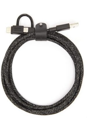 Native Union Belt Cable Universal 3-in-1 Charging Cable - Mens - Black