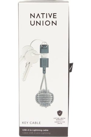 Native Union Usb Charging Key Ring - Mens - And