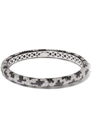 LEO PIZZO 18kt white gold Leopard diamond bange