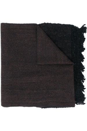 Giorgio Armani 2000s embroidered panel scarf