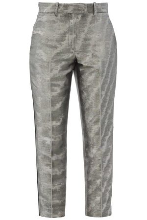 RACIL Aries Cropped Moire-lamé Trousers - Womens
