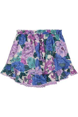 ZIMMERMANN Poppy floral cotton voile skirt