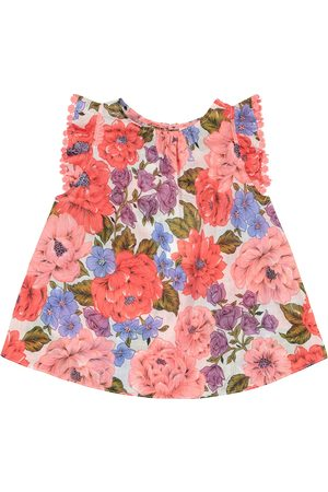 ZIMMERMANN Poppy floral cotton voile top