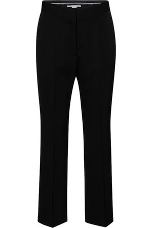 Stella McCartney Carlie high-rise straight wool pants