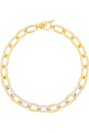 Kenneth Jay Lane Women Necklaces - Crystal-embellished chain-link necklace