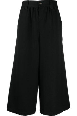Comme des Garçons 2000s cropped wide-leg trousers