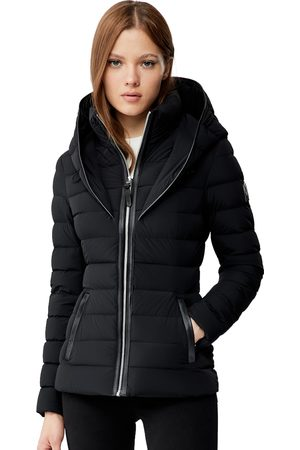 Mackage Andrea Lightweight Down Jacket with Signature Collar in - Women - XS