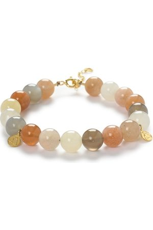 The Alkemistry 18ct Gold And Rainbow Moonstone Ombre Bracelet
