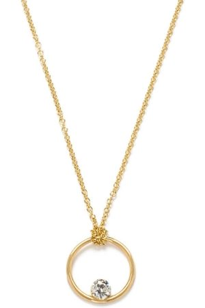 The Alkemistry 18ct Floating Diamond Circle Necklace