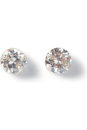 The Alkemistry 18ct Gold 0.2ct Floating Diamond Studs