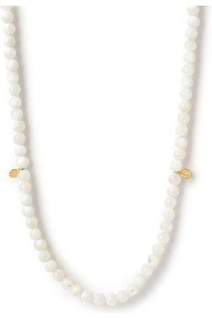 The Alkemistry 18ct Gold And Mother Of Pearl Necklace