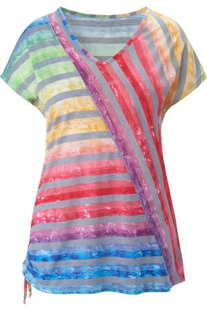 Anna Aura Women Tops - V neck top multicoloured size: 14