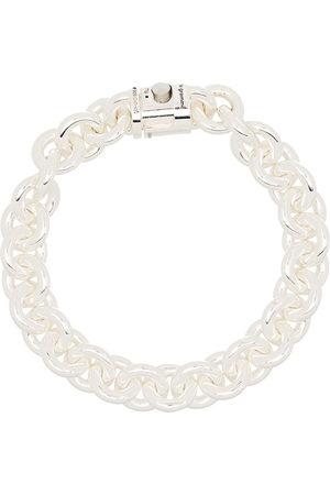 Le Gramme Men Bracelets - 65g Entrelacs chain bracelet