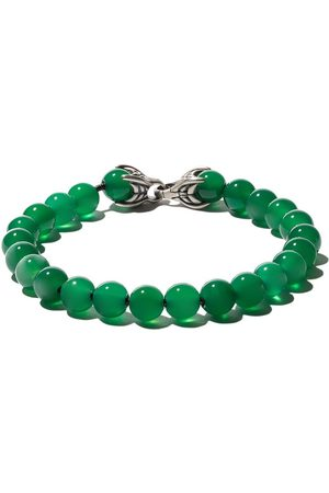 David Yurman Men Bracelets - Spiritual Beads green onyx bracelet - SSBGO