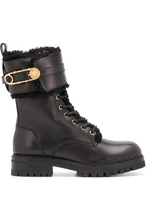 VERSACE Safety-Pin detail 40mm hiking boots