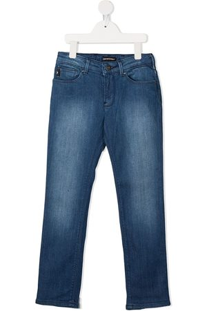 Emporio Armani Boys Straight - Straight-leg jeans