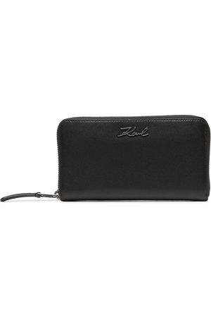 Karl Lagerfeld K/Signature continental wallet