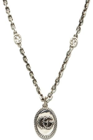 Gucci GG Marmont Sterling- Necklace - Mens