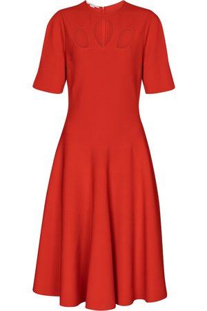 Stella McCartney Cut-out midi dress