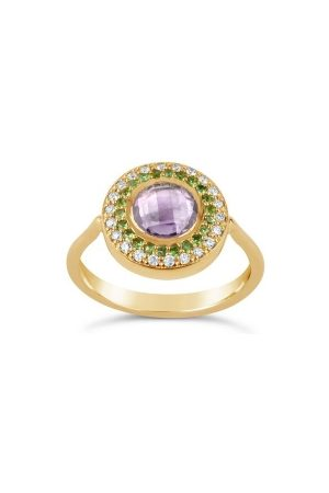 Dinny Hall Suffragette Halo Pinky Ring