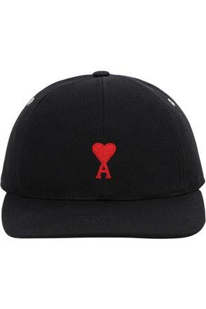 Ami Cotton Gabardine Baseball Hat