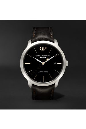 Girard Perregaux 1966 Infinity Edition Automatic 40mm Stainless Steel and Leather Watch, Ref. No. 49555-11-632-BB60