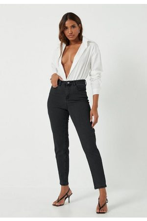 Missguided Petite Comfort Stretch Mom Jeans