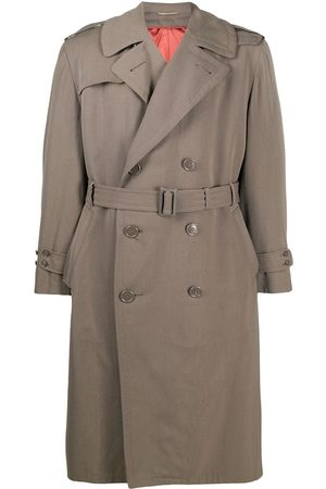 A.N.G.E.L.O. Vintage Cult 1950s double-breasted trench coat - Neutrals