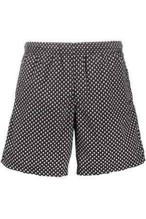 Alexander McQueen Skull pattern swim shorts