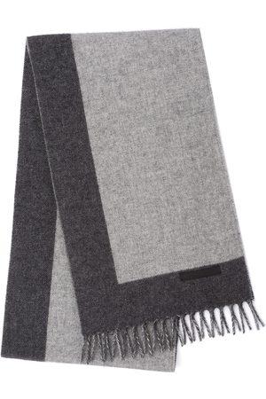Prada Knitted fringe scarf
