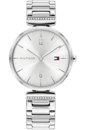 Tommy Hilfiger Silver Dial Stainless Steel Bracelet Watch