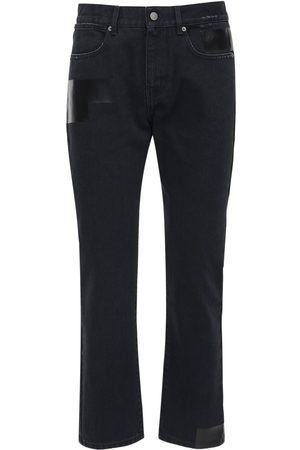 """McQ """"foam"""" Slim Fit Cotton Denim Jeans"""