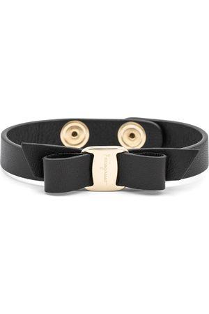 Salvatore Ferragamo Vara Bow leather bracelet