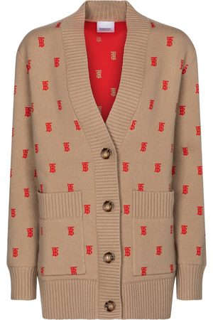 Burberry Monogram wool-blend cardigan