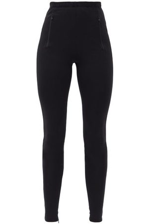 WARDROBE.NYC Women Trousers - Wardrobe. nyc - Release 03 High-rise Slit-cuff Leggings - Womens