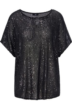 Riani Sequin top short kimono sleeves size: 10