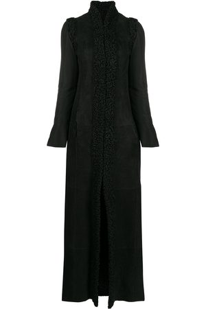 Gianfranco Ferré 1990s detachable sleeves long coat