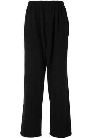 UNDERCOVER Men Wide Leg Trousers - Wide-leg wool trousers