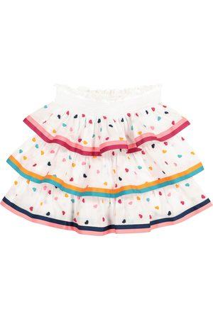 ZIMMERMANN Poppy embroidered cotton skirt