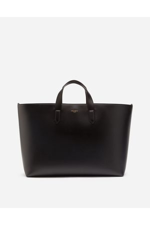 Dolce & Gabbana Collection - CALFSKIN MONREALE BAG WITH HEAT-STAMPED LOGO male OneSize