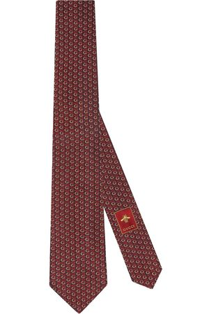 Gucci Men Bow Ties - Interlocking G Horsebit tie
