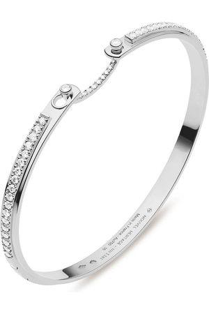 Nouvel Heritage Women Bracelets - 18kt white gold Tuxedo Mood diamond bangle