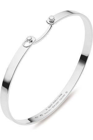 Nouvel Heritage Women Bracelets - 18kt white gold Monday Morning Mood diamond bangle