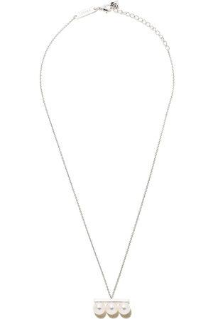 Tasaki Women Necklaces - 18kt white gold Balance Neo Akoya pearl pendant