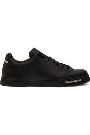 Dolce & Gabbana Leather Portofino Low-Top Sneakers