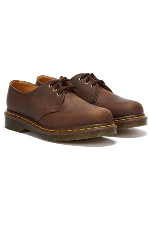 Dr. Martens Dr. Martens 1461 Crazy Horse Womens Gaucho Leather Shoes