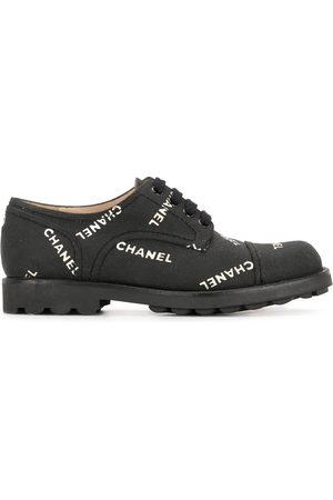 CHANEL Women Trainers - 1990s logo print sneakers