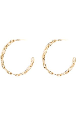 Paco rabanne Women Earrings - Chain-link hoop earrings