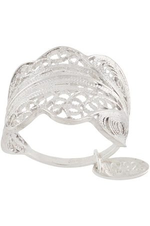 Wouters & Hendrix Women Rings - Engraved shield ring
