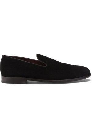 Dolce & Gabbana Velvet Milano Loafers